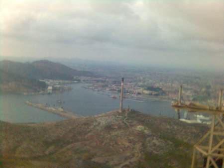 El Puerto desde el Castillo