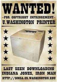 Se buscan impresoras que descargan películas