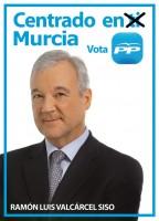Valcárcel, centrado en Murcia