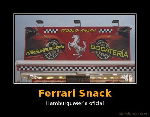Ferrari Snack / Hamburguesería oficial