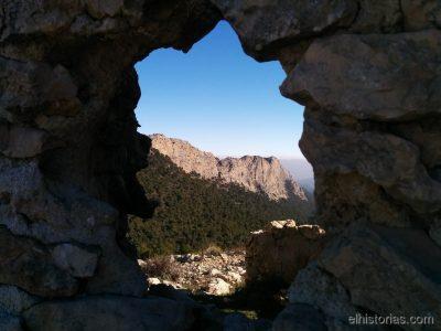 Vistas de las paredes de Leyva